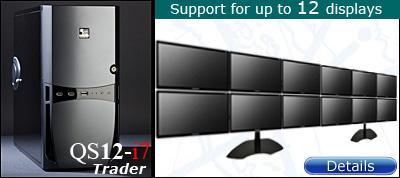 12 Display Trading Computer