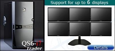 6 Display Trading Computer