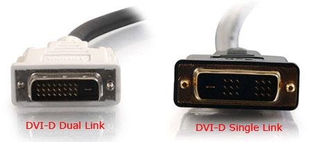 Compare DVI-D to DVI-I