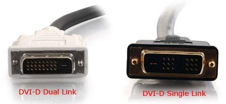 Compare DVI-D to DVI-I
