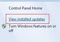 screen black after Windows update