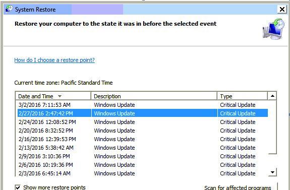 How to check windows update status