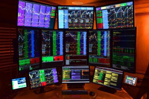 QuadStation 12 Screen Trading Computer