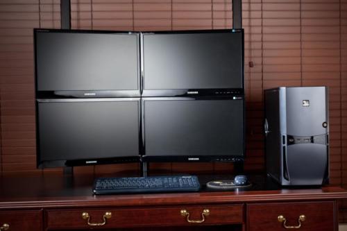 QuadStation 4 Display Computer